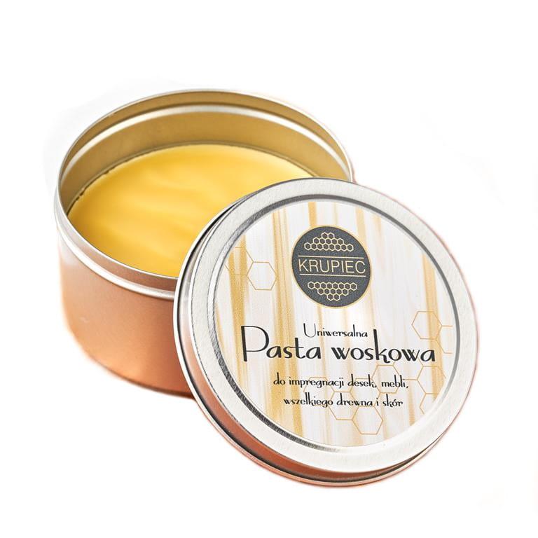 Uniwersalna pasta woskowa do impregnacji drewna